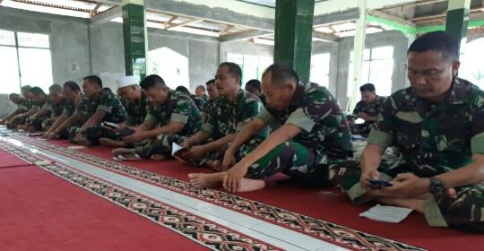 Kodim 0420/Sarko Gelar Doa Bersama Jelang Pergantian Tahun