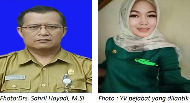 DI PERCAYA BUPATI, Drs. SAHRIL HAYADI, M.Si KEPALA BADAN BKPSDM KERINCI  DISINYALIR KANGKANGI PP 19 TAHUN 2017
